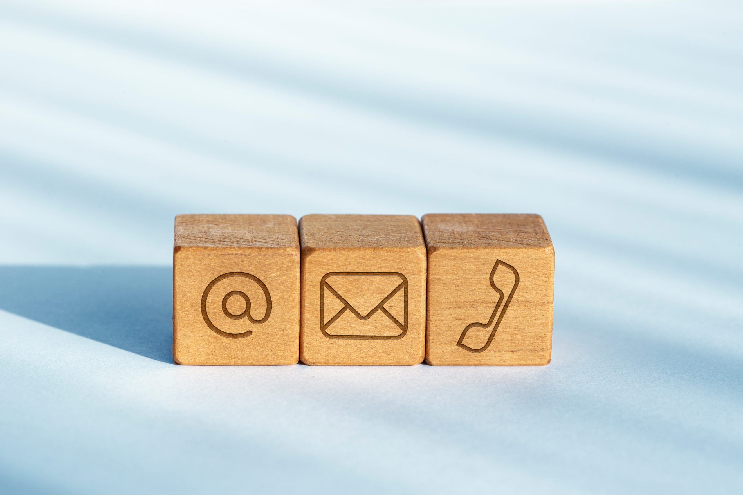 blocks with symbols